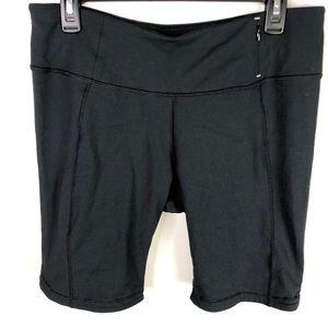 Calia Black Bike Short Tights ZIP Pocket size L